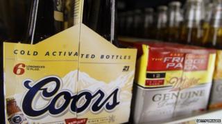Coors bottles