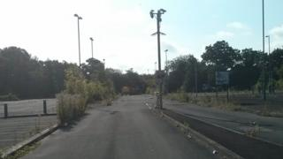 Former Swindon park and ride site