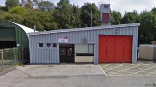 Blaina fire station