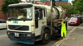 MFS lorry