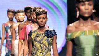 Models in Kinshasa, DR Congo - July 2014