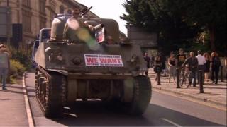 Tank in July