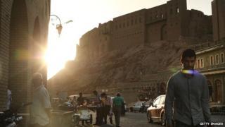 Centre of Irbil