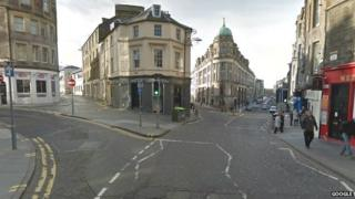 Lauriston Place and West Port junction