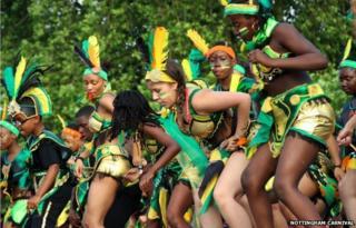 Nottingham Caribbean carnival