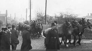 War horses at Ormskirk