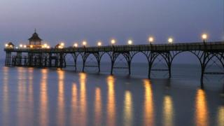 Clevedon, Pier, North Somerset