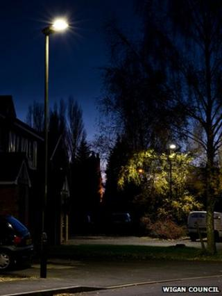 LED lighting in Wigan