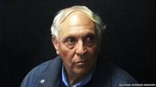 Jorge Horacio Paez Senestrari awaiting deportation on 10 August 2014