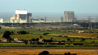 Heysham nuclear power stations