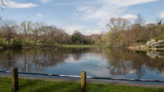 Artist impression of the Hampstead No.2 Pond