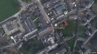 Google map image of Whitchurch grounds