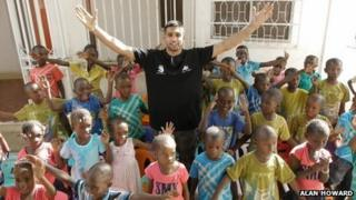 Amir Khan in Gambia