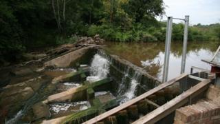 Weir at Neen Sollars