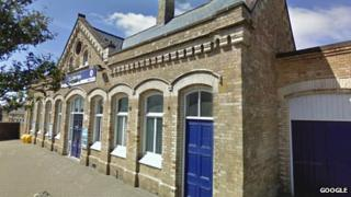 Workington train station