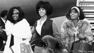 The Supremes in 1965: (l to r) Mary Wilson, Florence Ballard and Diana Ross