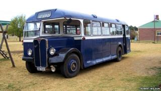 The bus in South Africa in 2005