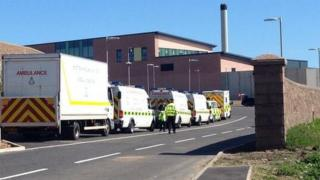 Emergency services at HMP Grampian