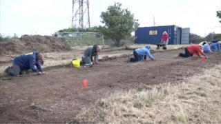 Dig at Whitehawk Hill
