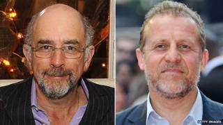 Richard Schiff and Nigel Lindsay