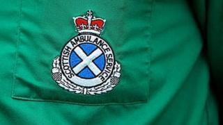 Ambulance service badge