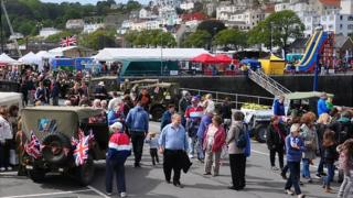 Crowds at Liberation Day 2013