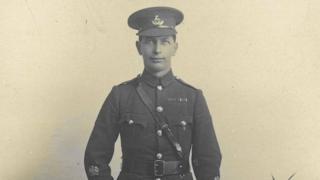 Regimental Sergeant-Major George Beck