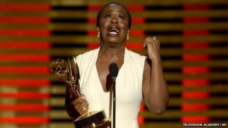 Uzo Aduba at the Creative Arts Emmy Awards