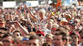 Crowds at V Festival