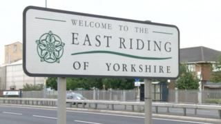 East Yorkshire sign