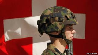 Swiss soldier