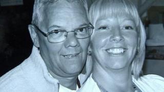 Richard and Kim Sharp