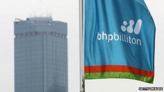 BHP flag