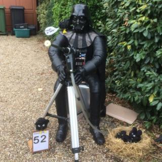 Darth Vader scarecrow