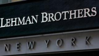 Lehman Brothers headquarters, New York on 15 September, 2008