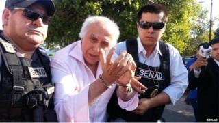 Dr Abdelmassih arrested in Paraguay