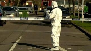 Forensic examination of Declan Smith murder scene