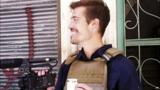 James Foley in Aleppo, Syria in 2012