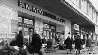 Old Woolworth's shop