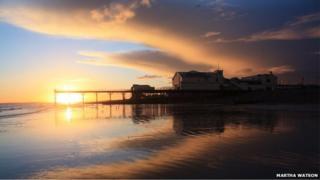 Bognor Pier by Martha Watson