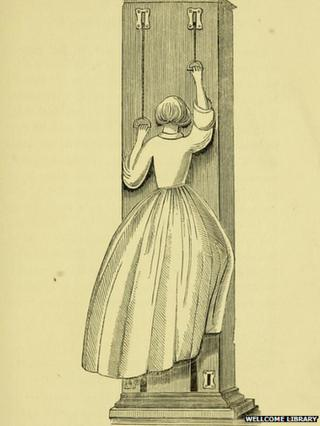 Victorian keep-fit exercises and gym regimes revealed