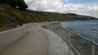 Lyme Regis sea defences
