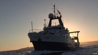 The MOAS Phoenix I vessel
