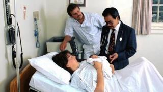 New born baby in hospital