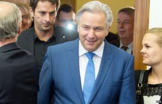 Klaus Wowereit mayor of Berlin (26 August 2014)