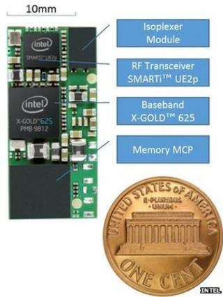 Intel builds 'world's smallest' 3G modem