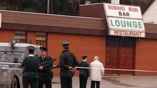 The Rising Sun bar in Greysteel, where eight people were killed in October 1993