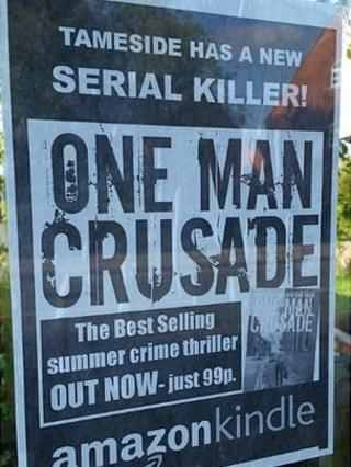 Poster for One Man Crusade book