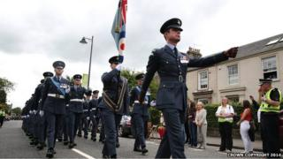 Armed Forces Day veterans march in Stirling in 2013