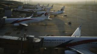 Malaysia Airlines planes, Kuala Lumpur